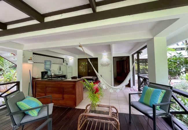 Bungalow/ verbunden mit der Villa in Punta Uva - Bungalows Coralina x 10